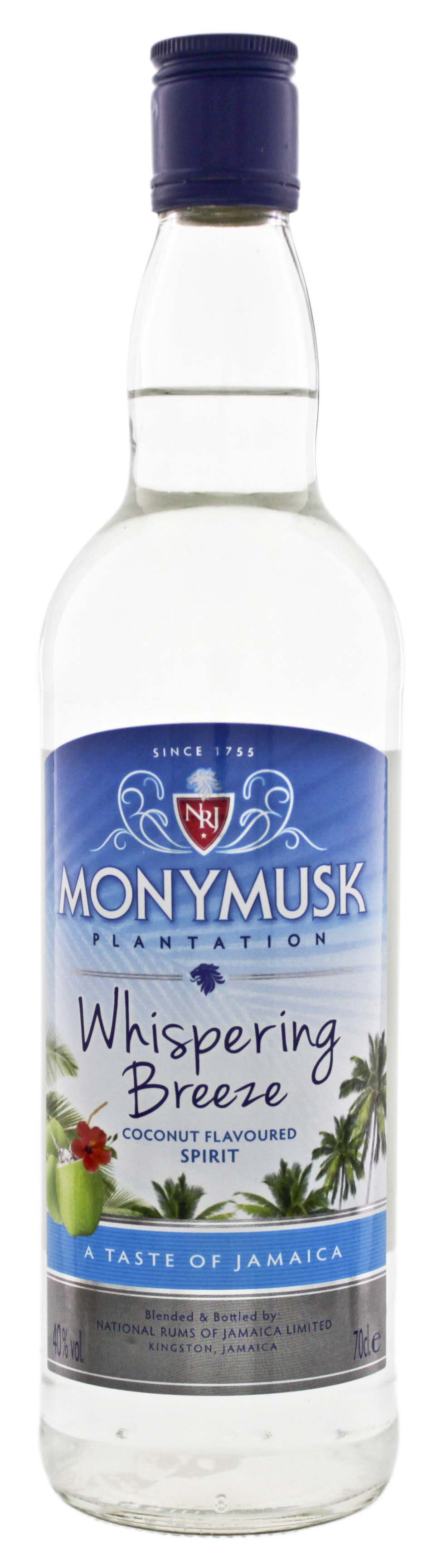 Monymusk Plantation Whispering Breeze Coconut 0,7L 40%