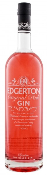 Edgerton Pink Gin 1,0L 43%