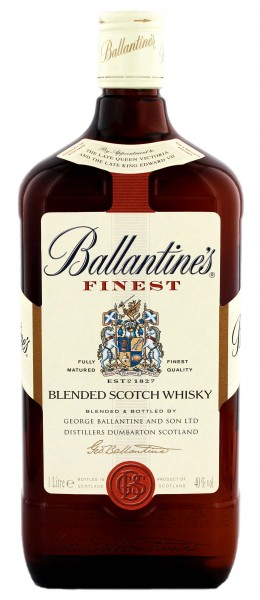 Ballantines Finest Blended Scotch Whisky 1,0L 40%