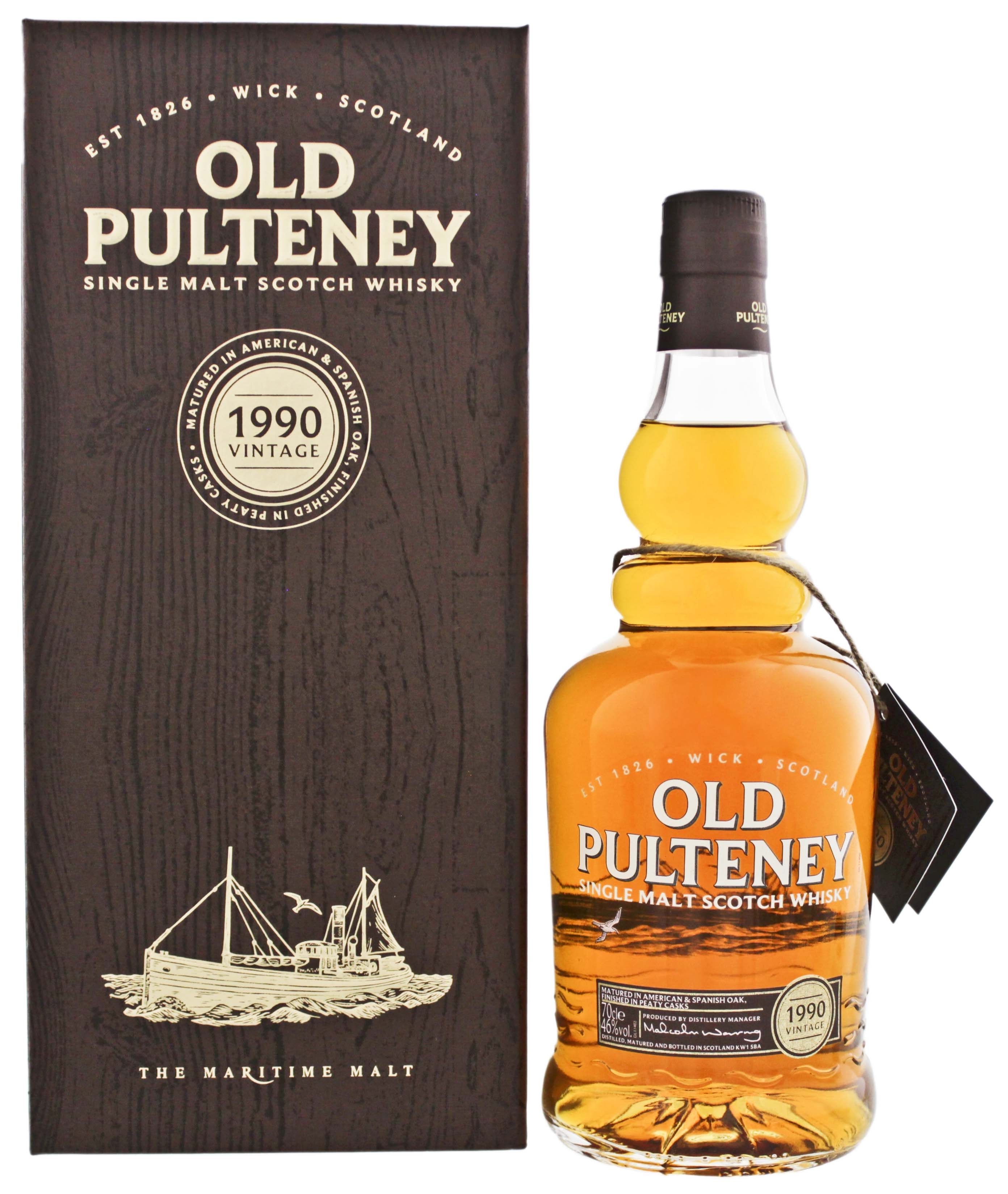 Old Pulteney Single Malt Whisky Vintage 1990 jetzt kaufen