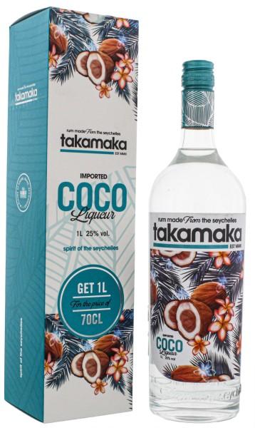 Takamaka Bay Coco Liqueur, 1,0L 25%