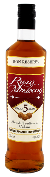 Malecon Rum Reserva 5 Years Old 0,7L 40%