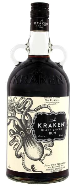 The Kraken Black Spiced 1,0L 47%