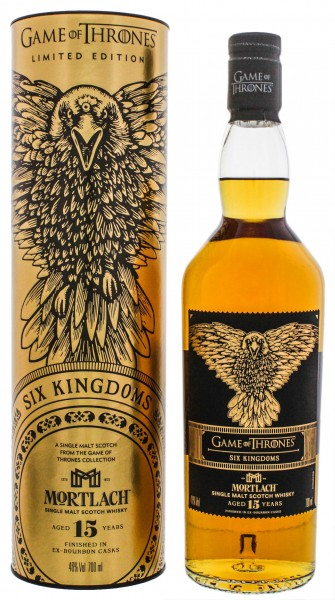 Mortlach Single Malt Whisky 15 Jahre Game of Thrones Edition Six Kingdoms 0,7L 46%