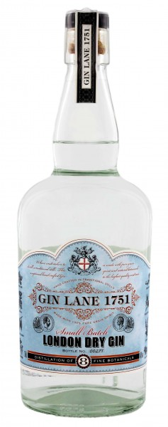 Gin Lane 1751 London Dry Gin 0,7L 40%