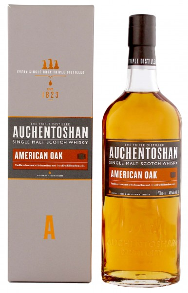 Auchentoshan American Oak Single Malt Whisky 0,7L 40%
