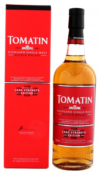Tomatin Single Malt Whisky Cask Strength Edition 0,7L 57,5%
