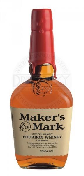 Maker's Mark Bourbon Whiskey 0,7L 45%