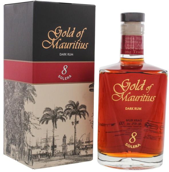 Gold of Mauritius Dark Rum Solera 8 0,7L 40%