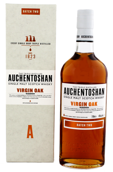 Auchentoshan Virgin Oak Single Malt Whisky, 0,7 L, 46%