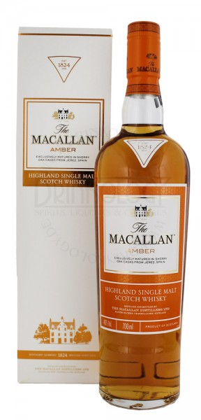 Macallan Amber Single Malt Whisky