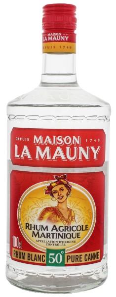 La Mauny Rhum Agricole Blanc 1,0L 50%