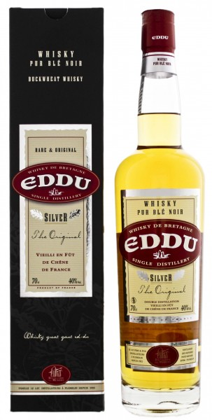 Eddu Silver Blended Whisky Pur Ble Noir ,7L 40%