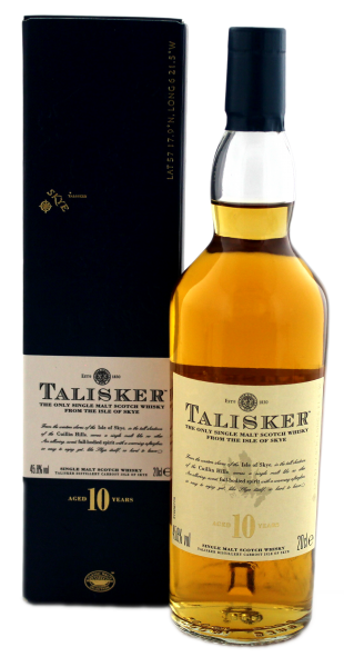 Talisker Single Malt Whisky 10 Years Old 0,2L 45,8%