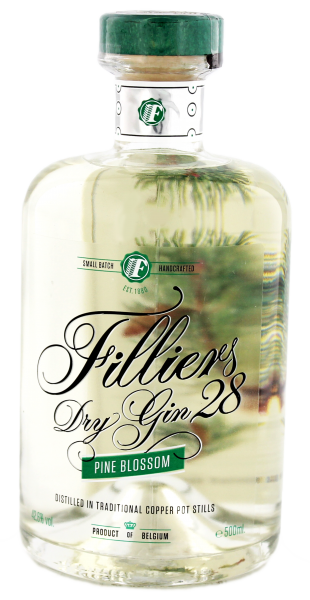 Filliers Dry Gin 28 Pine Blossom 0,5 L 42,6%