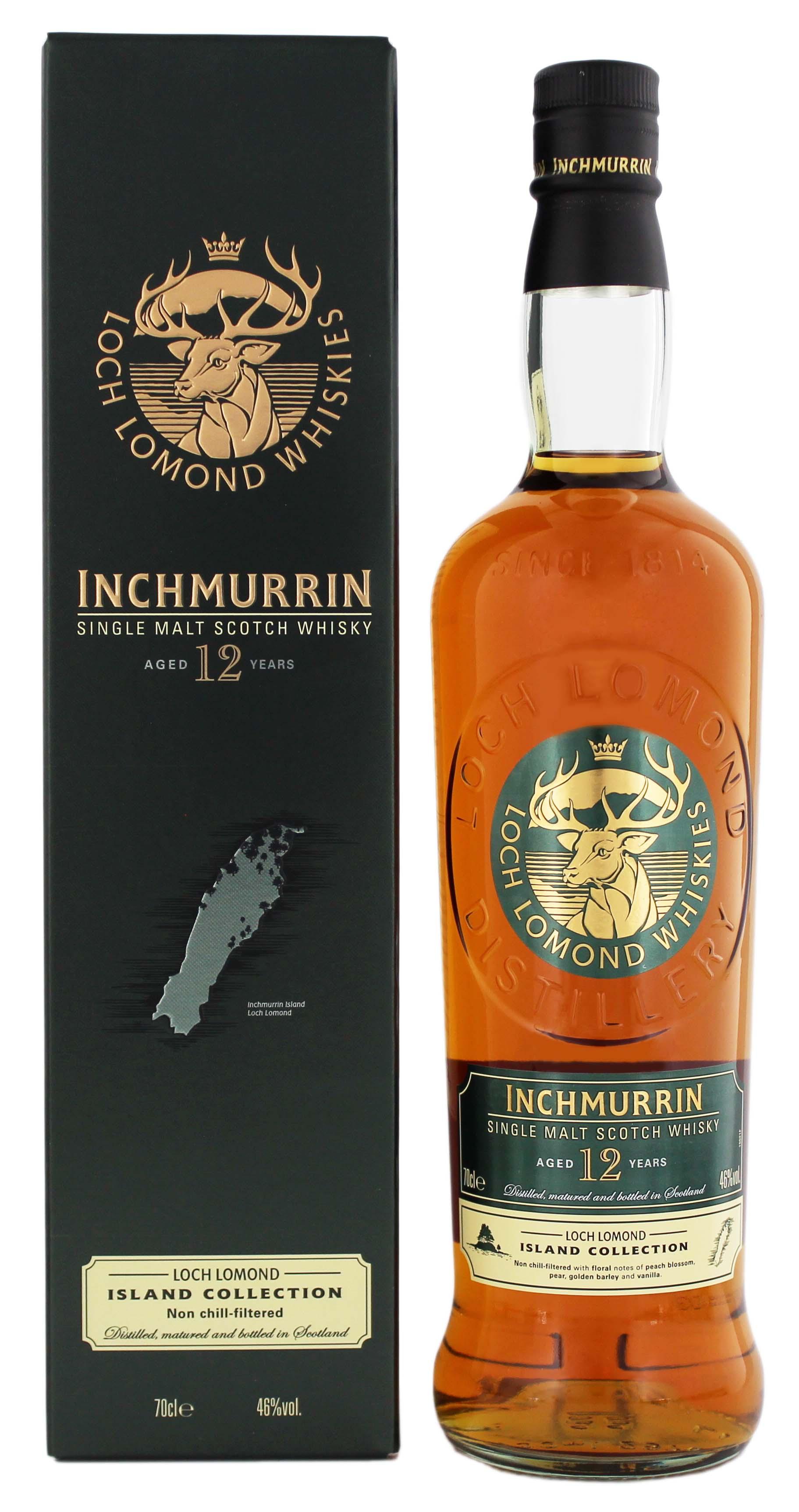 Inchmurrin Single Malt Whisky 12 Jahre jetzt kaufen im