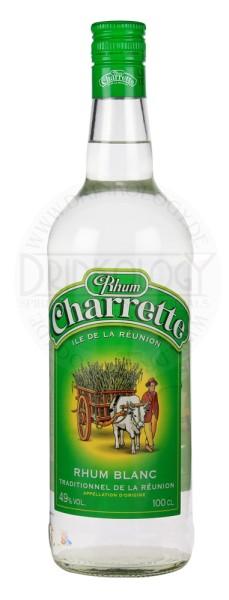 Charrette Rhum Traditional Blanc 1,0L 49%