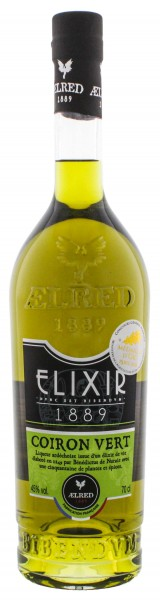 Aelred Liqueur 1889 Elixer Coiron Vert 0,7L 45%
