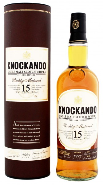 Knockando Richly Matured Malt Whisky 15 Years Old 1997