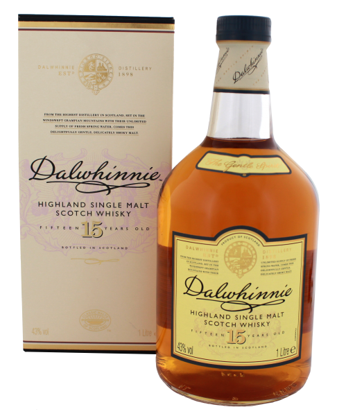 Dalwhinnie Single Malt Whisky 15 Years Old, 1 L, 43%