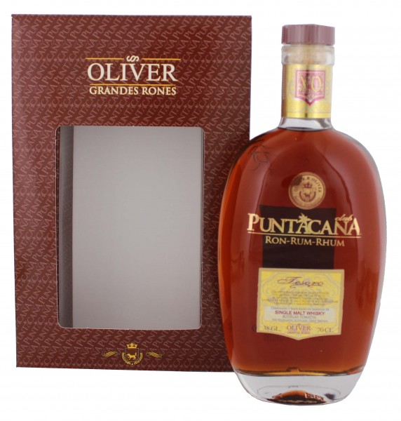 Puntacana Rum Tesoro 15 Jahre Malt Whisky Finish