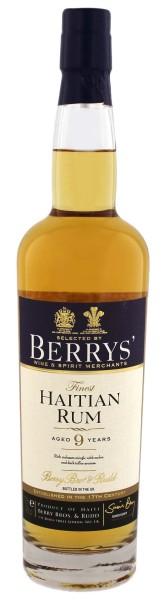 Berry's Own Finest Haiti Rum 9 Jahre 0,7L 46%