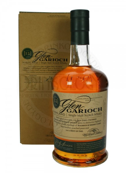 Glen Garioch Single Malt Whisky 12 Years Old