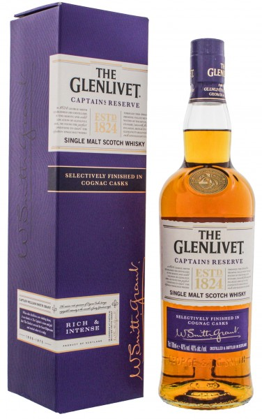 The Glenlivet Whisky Captain's Reserve 0,7L 40%