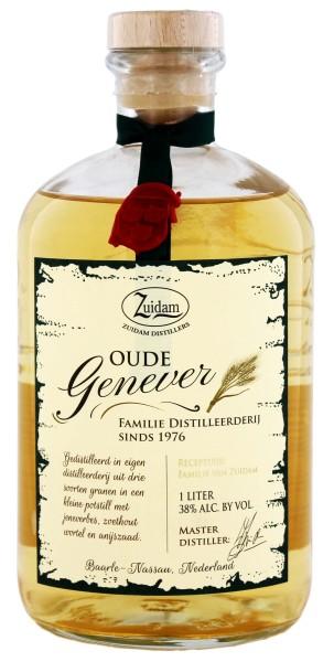 Zuidam Oude Genever 1,0L 38%