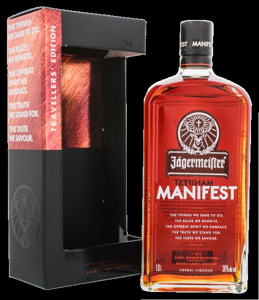 Jägermeister Manifest Herbal Liqueur 1,0L 38%
