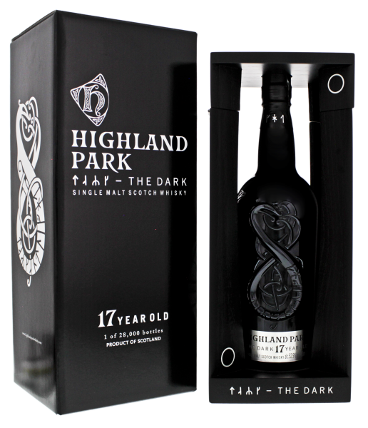 Highland Park The Dark 17 Jahre Malt Whisky 0,7L 52,9%