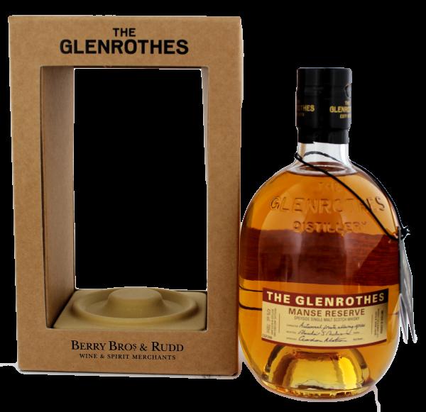 The Glenrothes Single Malt Whisky Manse Reserve, 0,7 L, 43%