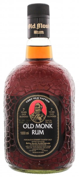 Old Monk Rum 7 Years Old, 1 L, 42,8%