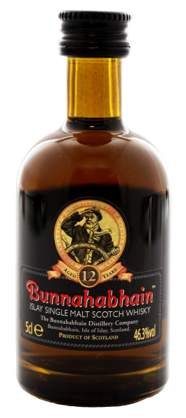 Bunnahabhain Single Malt Whisky 12 Jahre 0,05L 46,3%