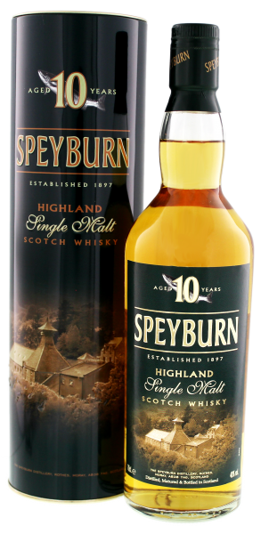 Speyburn Single Malt Whisky 10 Years Old, 0,7 L, 40%