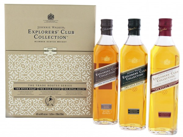 Johnnie Walker Explorers Club Collection 3x0,2L 40%
