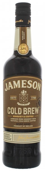 Jameson Cold Brew Whiskey and Coffee 0,7L 30%