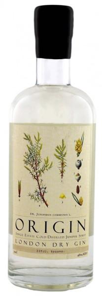 Origin Gin Istog 0,7L 46% inkl. Botanicals Miniatur