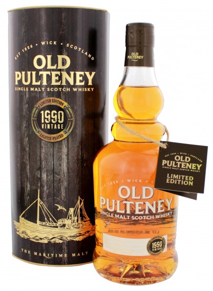 Old Pulteney Single Malt Whisky Vintage 1990 0,7L 46%