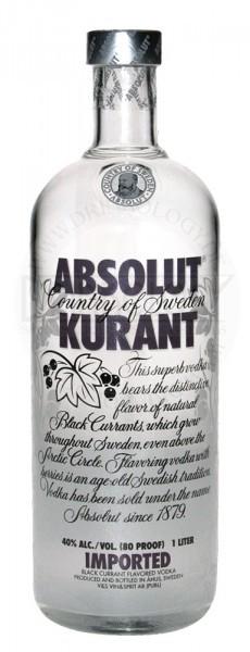 Absolut Vodka Kurant, 1 L, 40%
