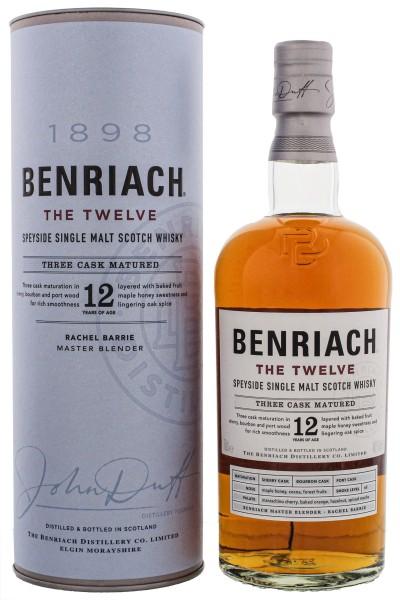 Benriach 'The Twelve' 12 Jahre Single Malt Whisky 0,7L 46%
