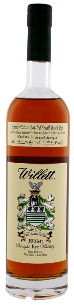 Willett Family Estate Rye Whiskey 2 Jahre, 0,7L, 54,2%
