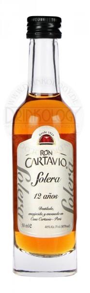 Cartavio Rum 1929 Antiguo de Solera 12 Years Old Miniature