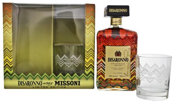 Amaretto DiSaronno Originale 0,7L 28% inkl.2 Gläser