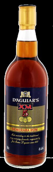 XM Demerara Rum 5 Years Old 0,7L 40%