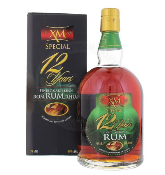 XM Rum 12 Jahre Special, 0,7 L, 40%