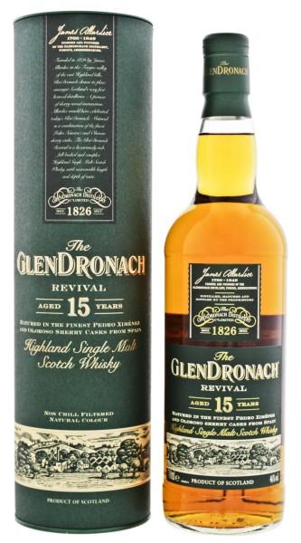 Glendronach Single Malt Whisky Revival 15 Years Old 0,7L 46%