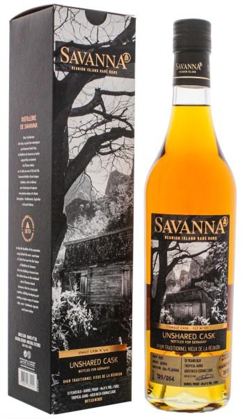 Savanna Rhum Vieux Traditionnel Unshared Single Cask No. 525 13 Jahre 0,5L 64,8%