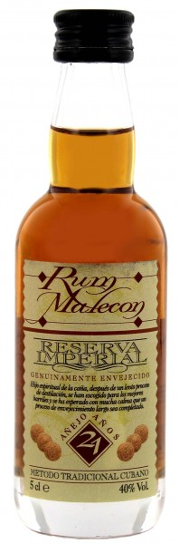 Malecon Rum Reserva Imperial 21 Years Old Miniatur