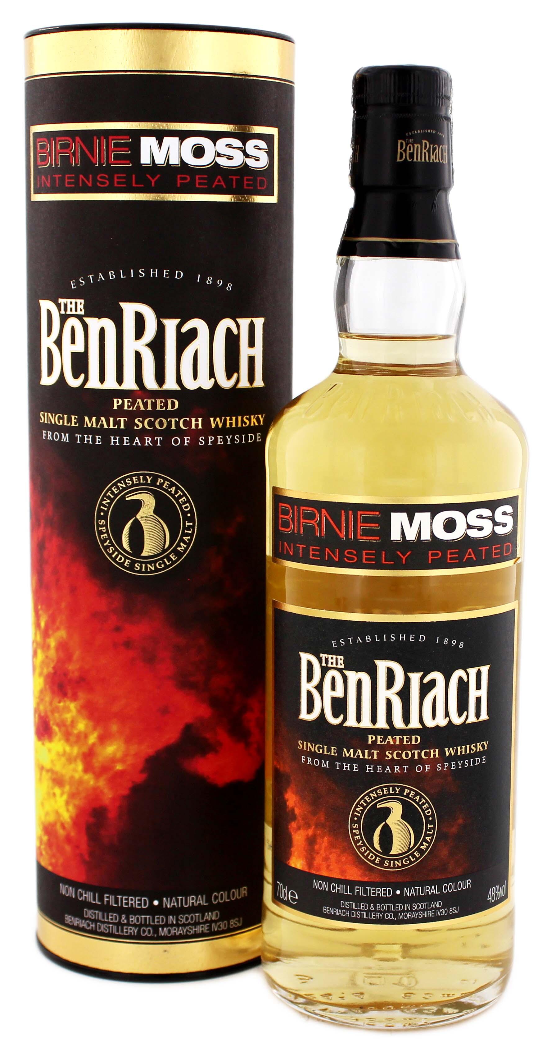 birnie moss benriach single malt whisky kaufen whisky online shop. Black Bedroom Furniture Sets. Home Design Ideas